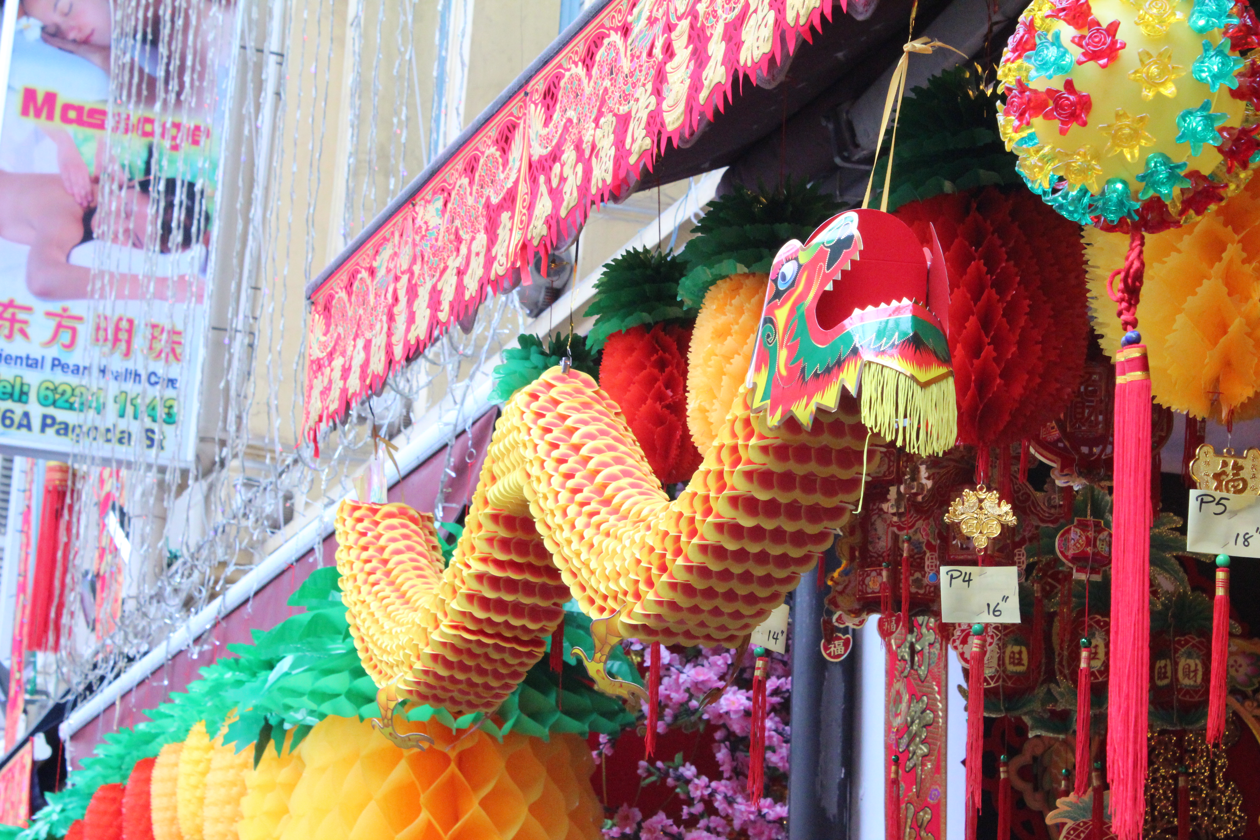 Chinatown In Singapore Gets Ready For Chinese New Year